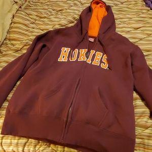 Virginia Tech full zip hoodie